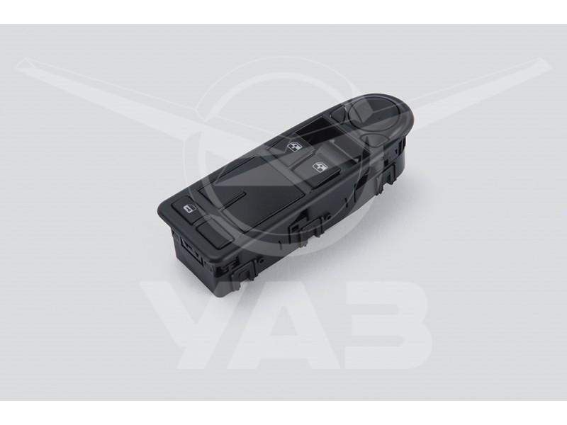 Блок управления электростеклоподъёмниками УАЗ CARGO 23602, ПРОФИ (модуль, на двери водителя) ** / 2360-3769100