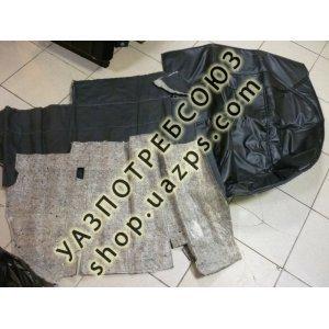 Шумоизоляция пола УАЗ-452 / 452-65