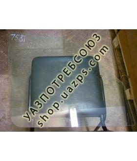 А/стекло УАЗ ПАТРИОТ, ПРОФИ,  3162, 3160 передней двери опускное левое ЗЕЛЁНОЕ / 3160-6103215-01