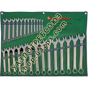 Набор комбинированных ключей 6-32мм, 26 предметов Jonnesway W26126S / Jonnesway W26126S