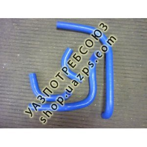 Патрубки отопителя (печки) силиконовые УАЗ ПАТРИОТ до 2012г комп-т 4шт