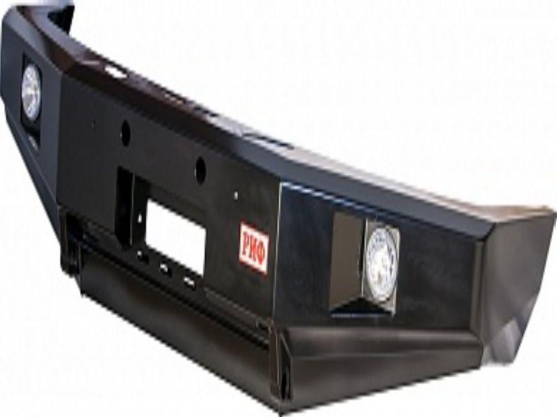 Бампер передний РИФ УАЗ PATRIOT с дополнительными фарами без кенгурина / RIF060-10356