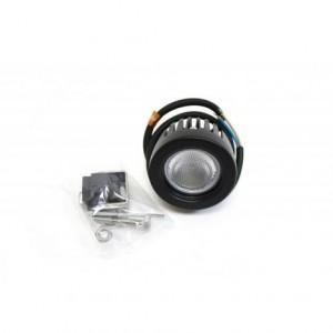 Фара светодиодная рабочего света 10W (*1) круг. 5,5 см, IP67