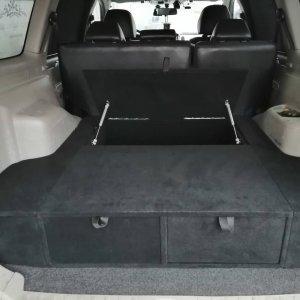 Полка-органайзер (спальник) Mitsubishi Pajero Sport 2 (2008-2015 г.в.) / МПС2