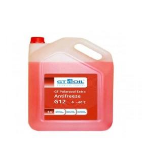 Антифриз GT Polarcool G12 красный (10 л) / GT G12
