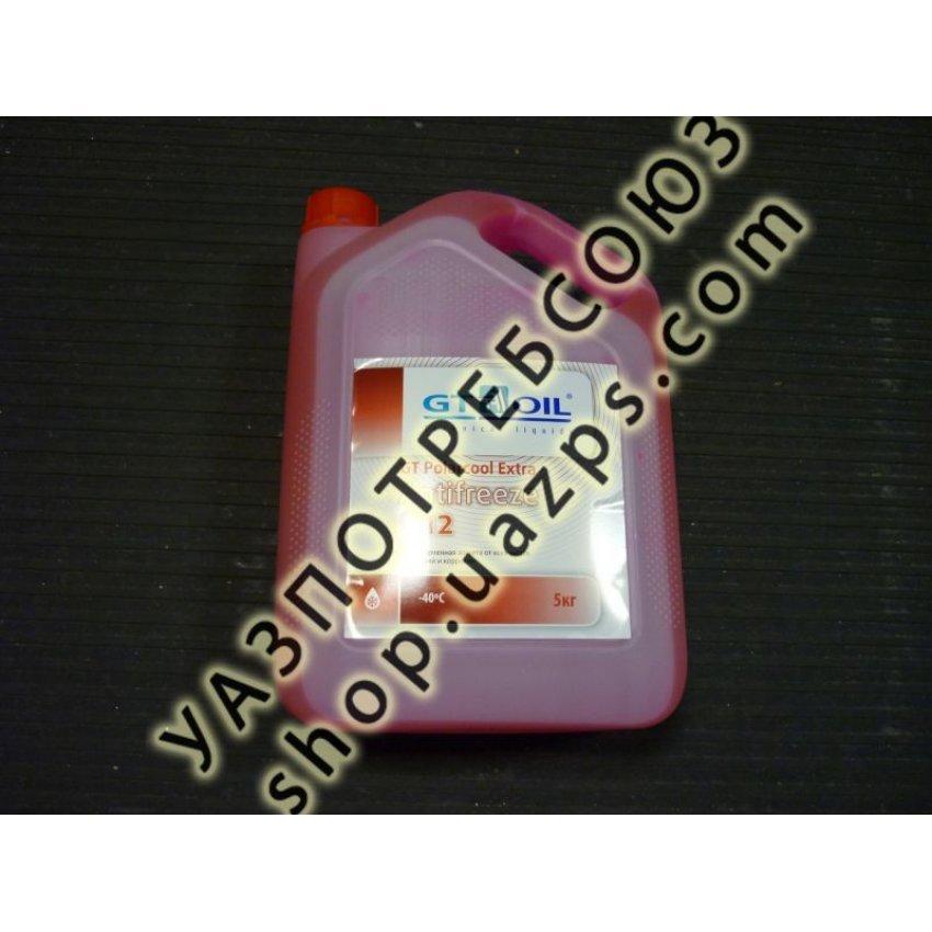 Антифриз GT Polarcool G12 красный (5 л) / GT-R05