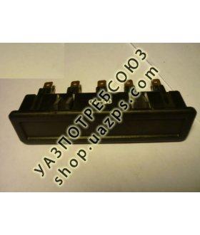 Глазки УАЗ ХАНТЕР (блок контрольных ламп: аварийный,стояноч, поворот,  аккумулятор, двигатель) / 43.3803-20