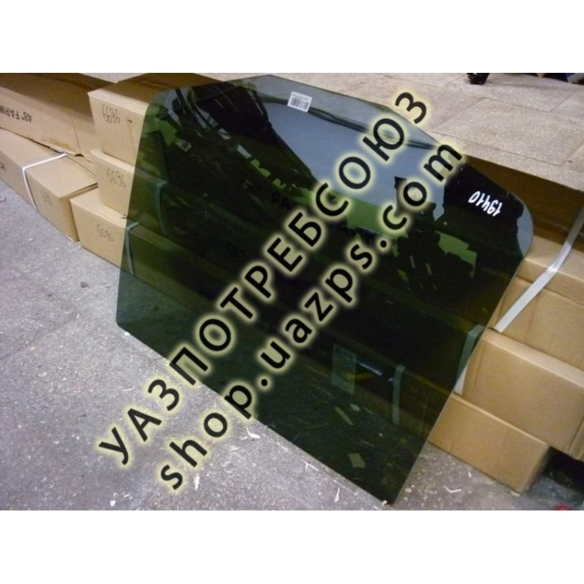 А/стекло УАЗ ПАТРИОТ, 3162 задней двери опускное левое ТОНИРОВАННОЕ В МАССЕ / 3162-6203215-02