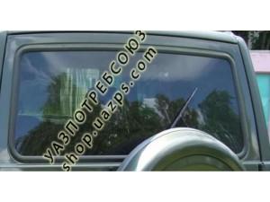 А/стекло УАЗ ПАТРИОТ, 3162 двери задка с подогревом (БОР) ЗЕЛЁНОЕ / 3160-6303014-99