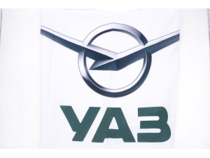Флаг УАЗ фирменный вертикальный 1х2 метра / 470107401