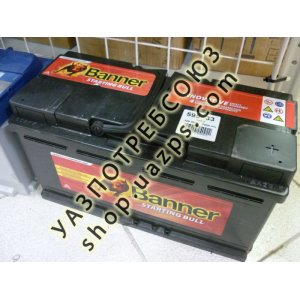 Аккумулятор BANNER UNI BULL 95 а/ч (278ммx175мм) 4 клеммы / 59533