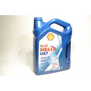 Масло моторное SHELL/Helix 10W/40 (4л) полусинтетика (HX7) / МАСЛО SHELL/Helix 10W/40 (4л)