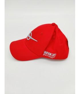 Бейсболка (кепка) СИЛЫ УАЗ ПАТРИОТ (КРАСНАЯ)  / УАЗ ПАТРИОТ (бейсболка) красная