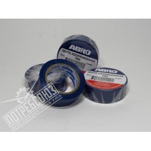 Изолента синяя 10м ET-912-B ABRO / ET-912-B
