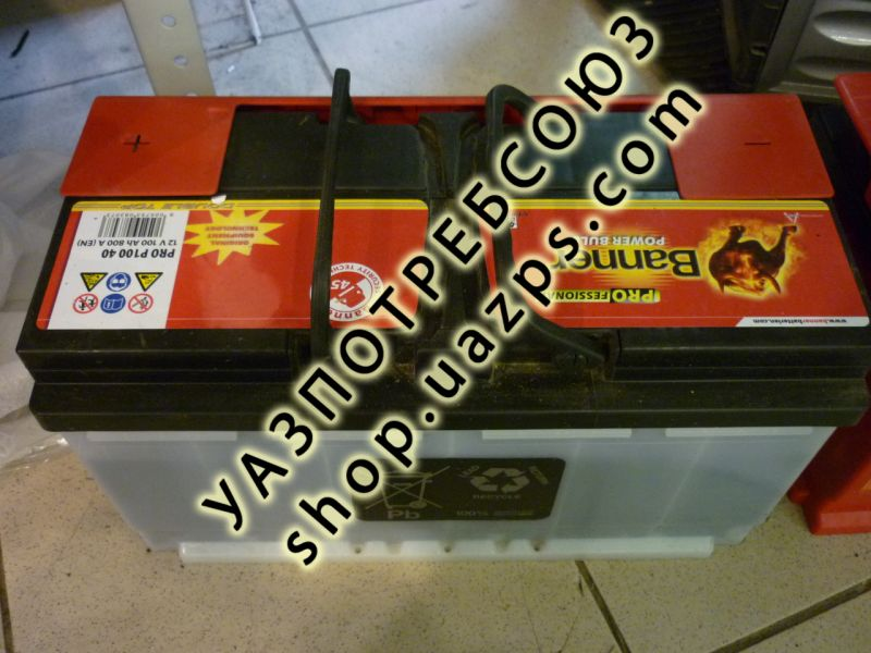 Аккумулятор BANNER Power Bull 100 АЧ / P10040