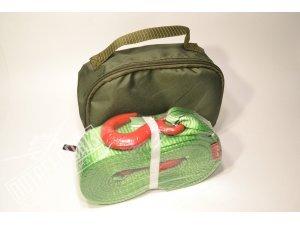 Стропа буксировочная с крюками + сумка TPLUS 6 тонн 5 метров / T001950