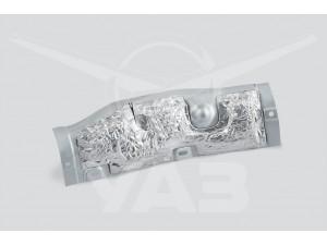 Брызговик двигателя правый УАЗ ПАТРИОТ, ХАНТЕР (дв.409, 514) с накладкой В СБОРЕ / 31602-2802033-95
