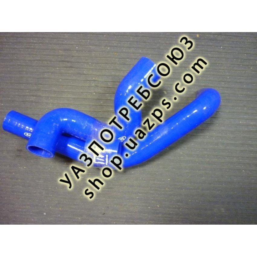 Патрубки радиатора УАЗ ПАТРИОТ с дв. ЗМЗ 409 ЕВРО 3,4 силиконовые (к-кт 5 шт) SALLERS / SIL409E3