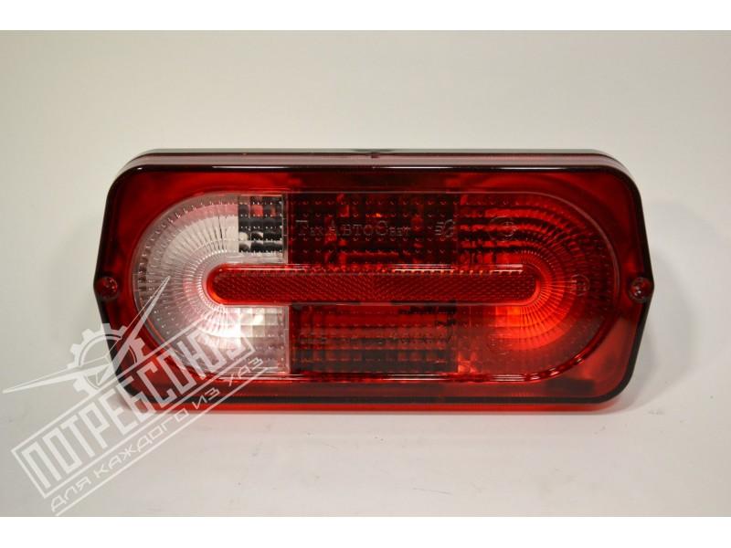 Фонарь задний УАЗ 469, ХАНТЕР Тюнинг Mercedes GWagen (БЕЗ лампы) 12В / 132.3716-500