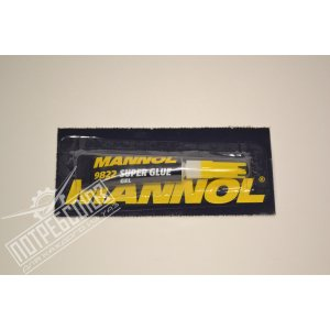 Клей гелевый 3гр MANNOL / 2457