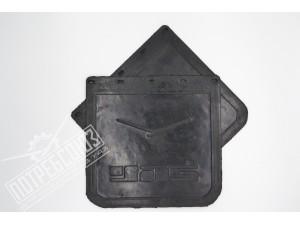 Брызговик резиновый (фартук) УАЗ 452 задний 300*300 (КОМПЛЕКТ 2 шт.) / 451Д-5107310