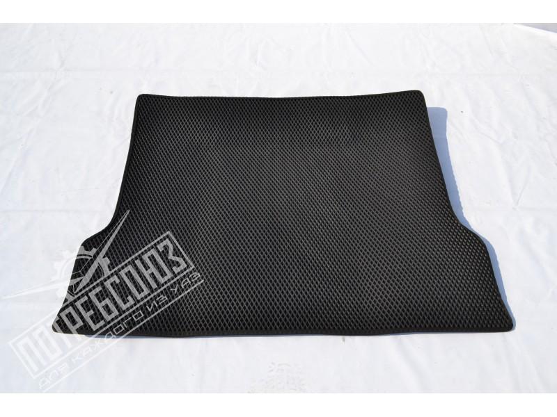 Коврик EVA-smart багажника УАЗ ПАТРИОТ Рестайлинг-2014 черный / Коврик багажника EVA Рестайлинг-2014