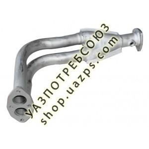 Труба приемная УАЗ PATRIOT, HUNTER (409 дв.) под датчик / 31602-1203010-95