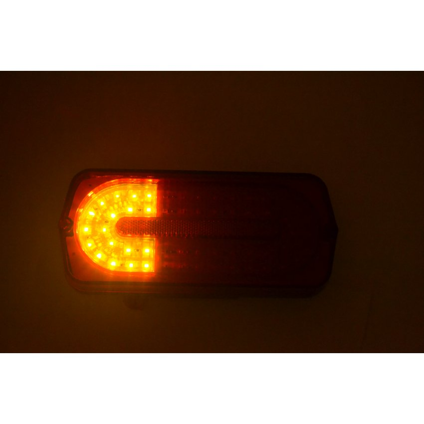 Фонарь задний УАЗ 469, ХАНТЕР Тюнинг Mercedes GWagen СВЕТОДИОДНЫЙ / 132.3716-500 (LED)