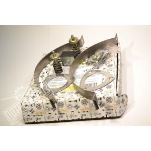 Комплект установочный глушителя УАЗ с дв.УМЗ-4213, ЗМЗ-409 Евро-0/-2 (до 2008), 4091