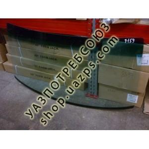 А/стекло УАЗ ПАТРИОТ, 3162, 3160 лобовое с ПОЛОСОЙ (тонированное зеленое) / 3160-5206016-01 с ПОЛОСОЙ