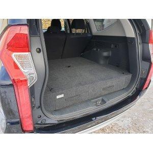 Полка-органайзер (спальник) Mitsubishi Pajero Sport 3 серый (2015-2021 г.в.) / МПС3СТ
