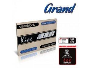 Виброизоляция KICX GRAND 4.1мм (лист 540*370мм) / KICX GRAND (виброизоляция)