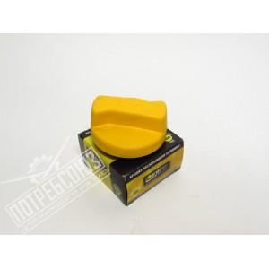 Крышка маслозаливная дв.406,409,514 (желтая) ЛЮКС / 406-1009146-02