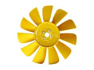 Вентилятор УАЗ (крыльчатка пласт., 11 лопастн.) желтая, черная, красная RIGINAL / 3151-1308010-013