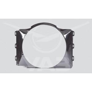 Диффузор (кожух вентилятора) УАЗ 469 Пластик / 469-1309010-10