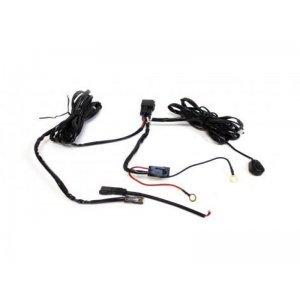 Комплект проводки для подключения 2-ух дополнительных LED-фар (с кнопкой, реле 40А) / 7183