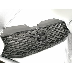 Облицовка радиатора (решетка) УАЗ ПАТРИОТ EDITION-I В СБОРЕ (ЧЕРНЫЙ ЛАК)