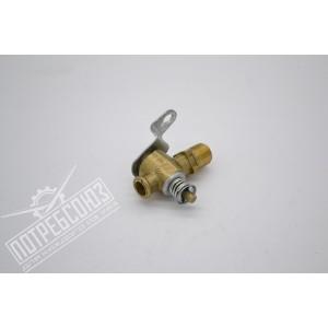 Кран радиатора и блока ГАЗ сливной (пробковый, ПС7-1)