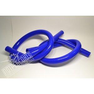 Патрубки заднего дополнительного отопителя УАЗ ПАТРИОТ силиконовые (к-кт 2шт) / PATIRIOT силикон