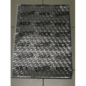 Материал многослойный, самоклеящийся, вибропоглощающий KICX 540*370мм / SUPER 2,7 KICX