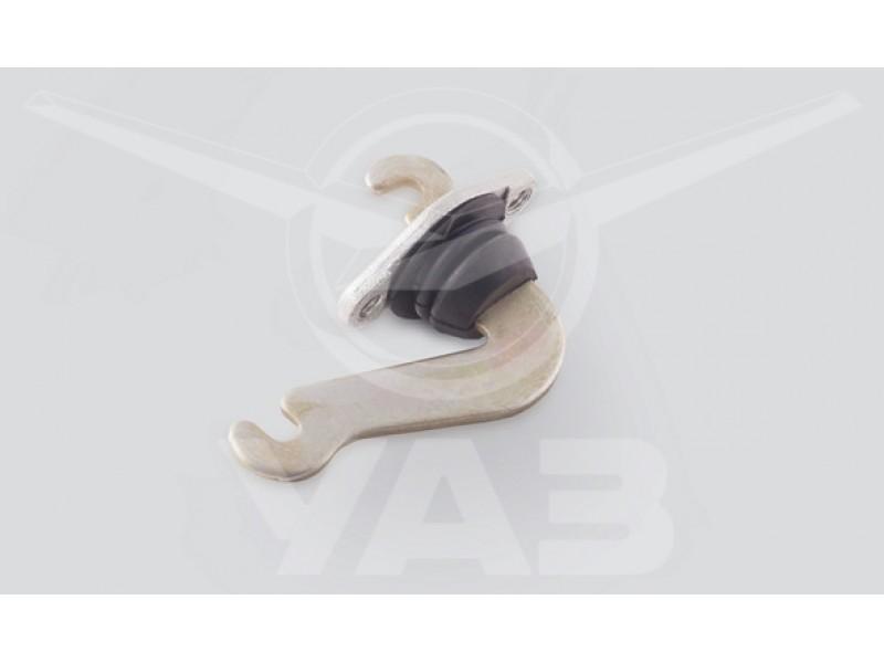 Блок промежуточного рычага стояночного тормоза УАЗ ПАТРИОТ-2014 (с августа 2013) / 3163-3508230