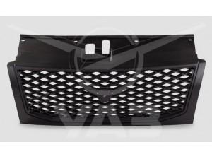 Облицовка радиатора (решетка) УАЗ ПАТРИОТ 2009-12 (ячейка) ГОЛАЯ (пластик) (сток) / 31631-8401014 (31631-8401012)