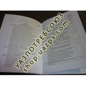Нормы времени на ТО и Р авт. UAZ-31631 (дв. IVECO). 2008г. / 05808600.030-2008