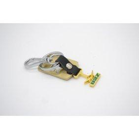 Брелок УАЗ (зеленый + позолото) / Брелок УАЗ (ЗОЛОТО)