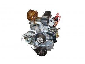 Двигатель в сб. 4218 АИ-92 УАЗ (98 л.с.) ЛЕПЕСТКОВАЯ корзина (УМЗ) / 4218.1000402-30