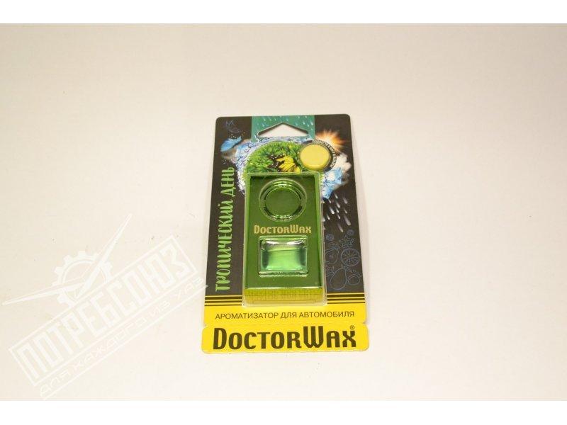 Ароматизатор DOCTOR WAX на дефлектор обдува Тропический день 6.5 мл. / DW0818