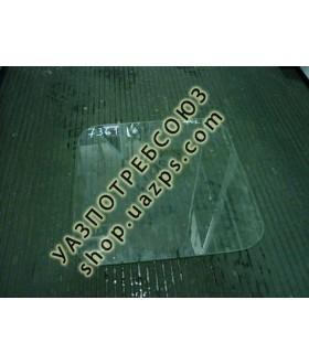 А/стекло УАЗ 452 передней панели узкое (ППБ) 383*384 / 451В-5403202
