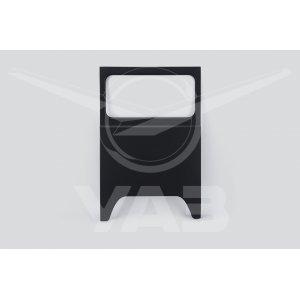 Панель боковины УАЗ 452 ЛЕВАЯ широкая (над колесом) (под стекло) / 451А-5401075-10