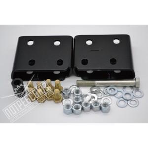 Комплект проставок РИФ для переноса траверсы коробки передач УАЗ Патриот на 38 мм / RIF000-99020