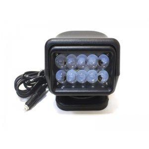 Прожектор светодиодный 50W (5W*10) БЛИЖНИЙ, пульт д/у 200м, закал.стекло, 4000lm, IP65